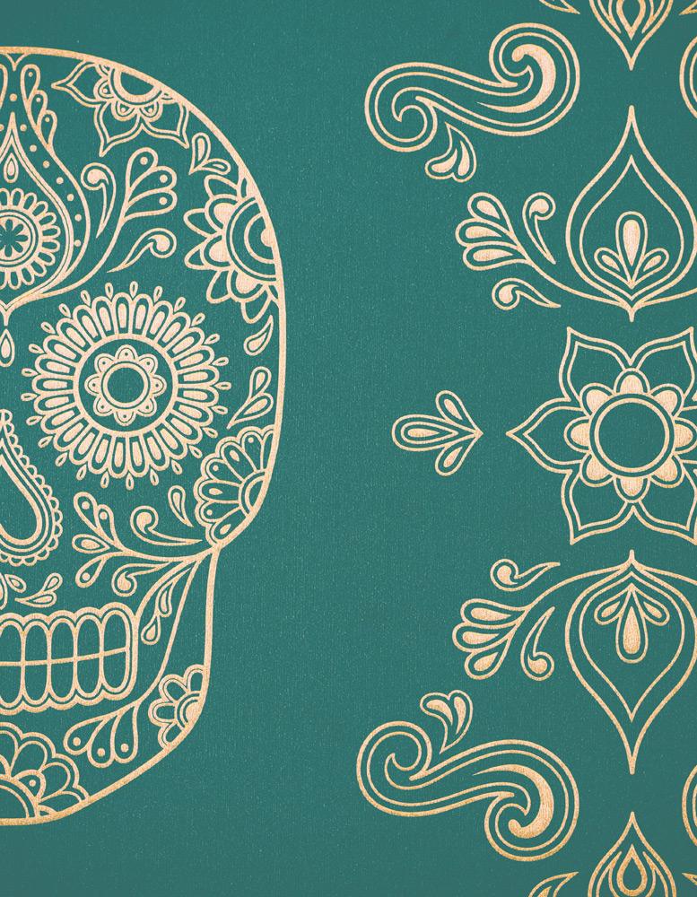 Day of the dead sugar skull wallpaper galleria81 - Sugar skull background ...
